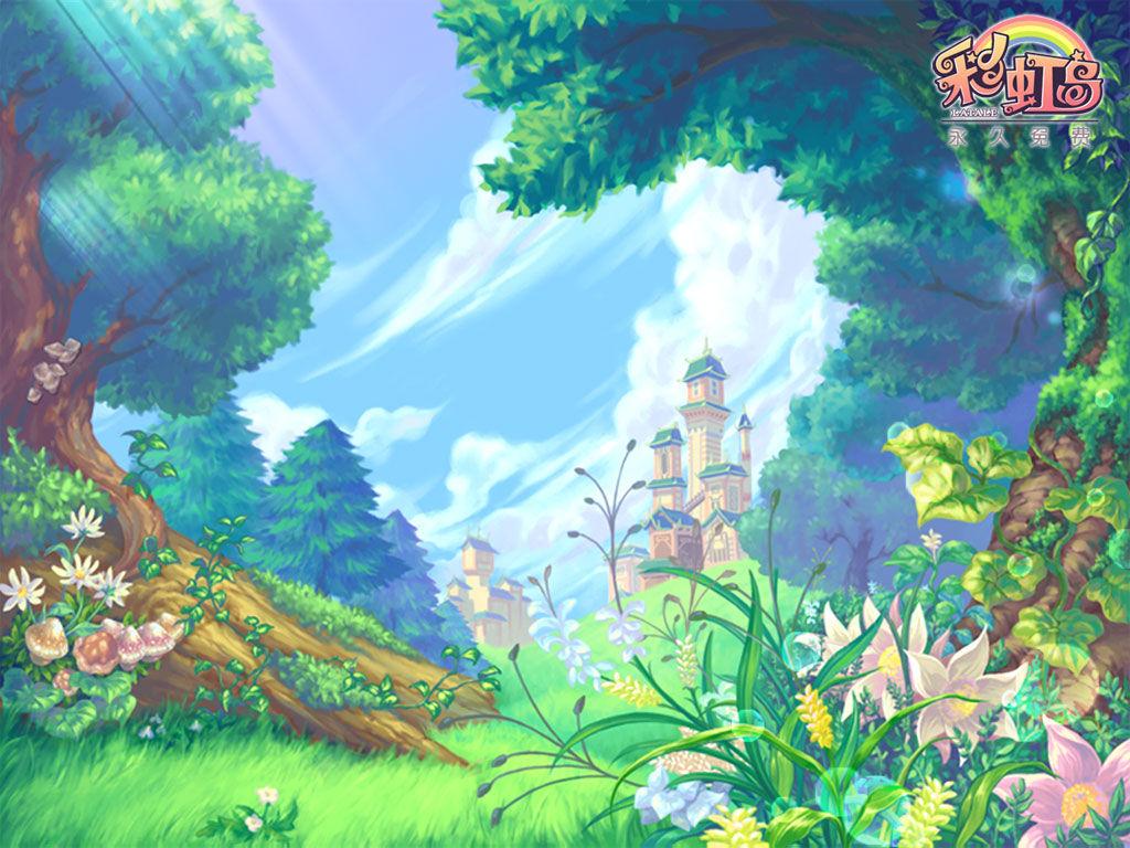 彩虹岛 游戏壁纸4 | 中华网游戏大全
