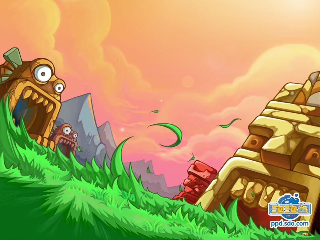 泡泡岛 游戏壁纸2 | 中华网游戏大全