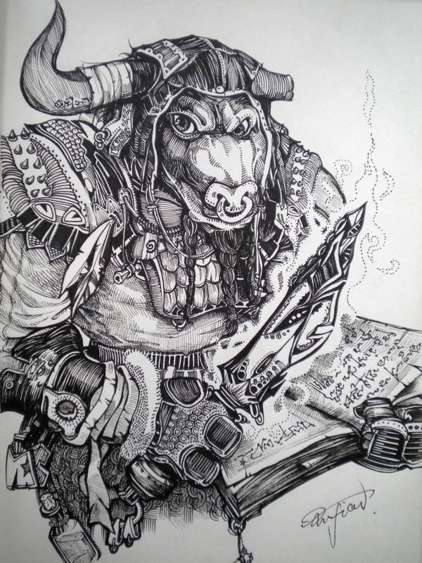 魔兽世界手绘原画