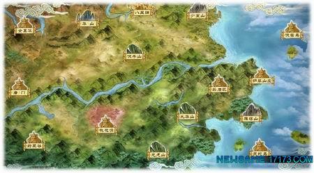 游戏城镇地图素材