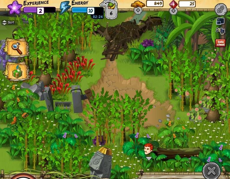 神秘岛 1 | 中华网游戏大全