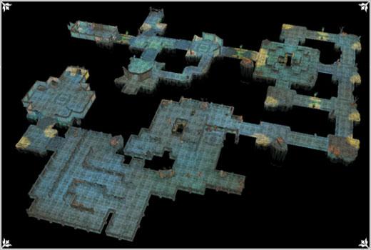 地图场景 【 地下城堡