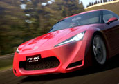 丰田新车参战《GT赛车5》